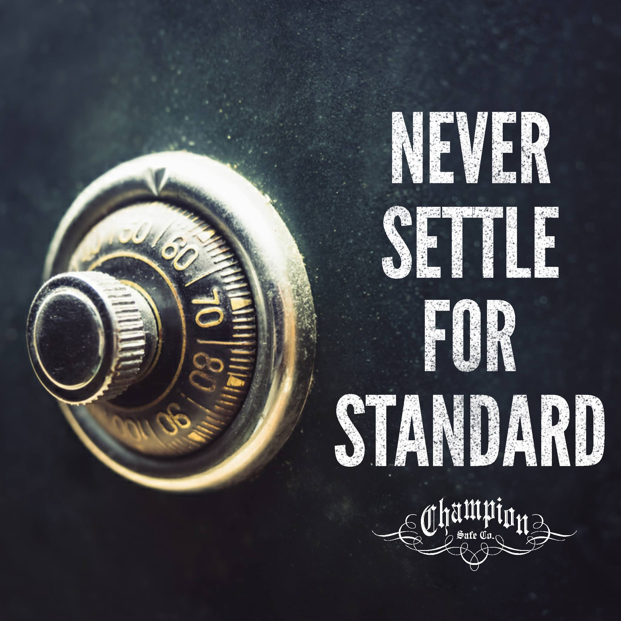 Never Settle for Standard